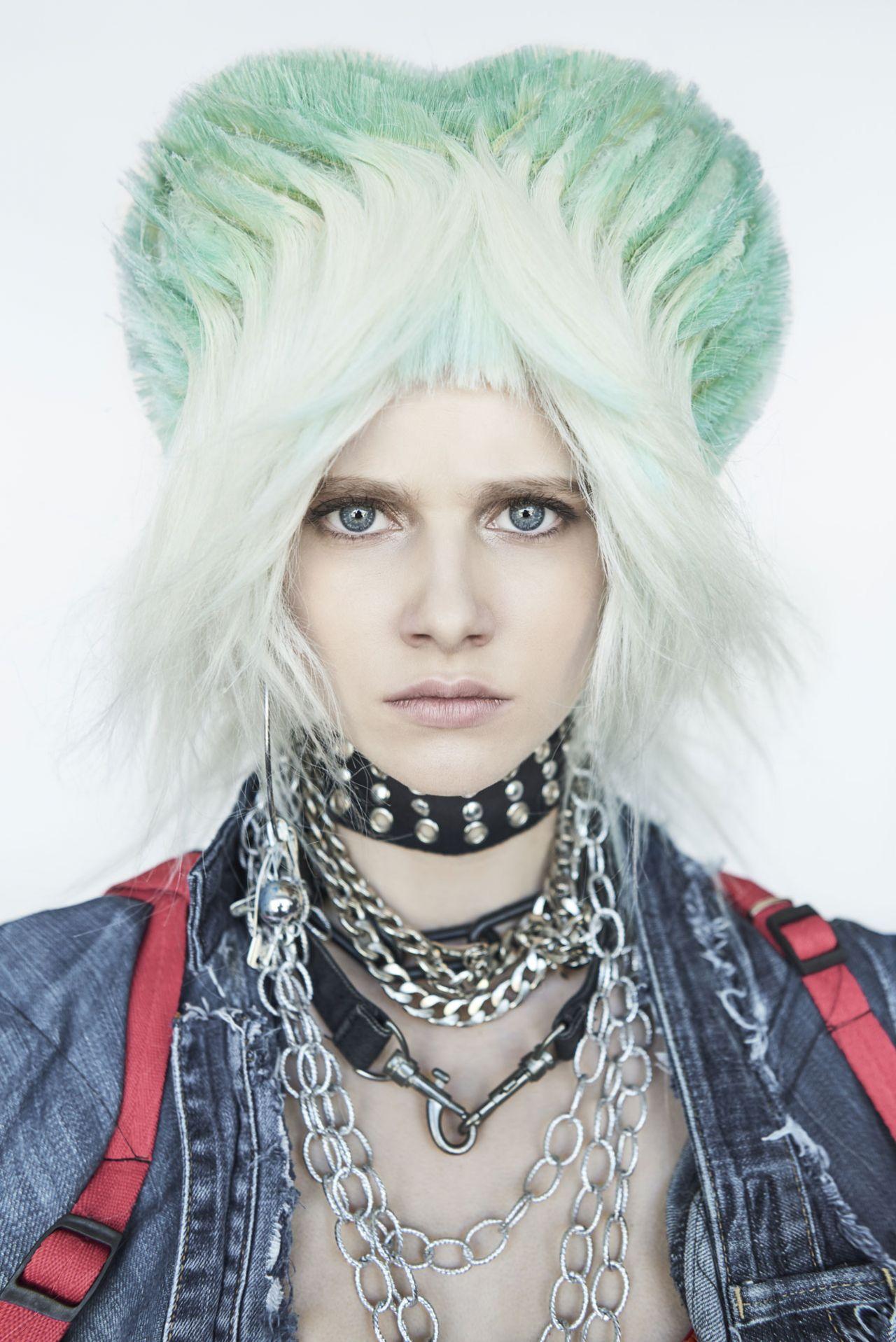 Punk Rock Girls Frisuren Kollektion Von Manuel Mon
