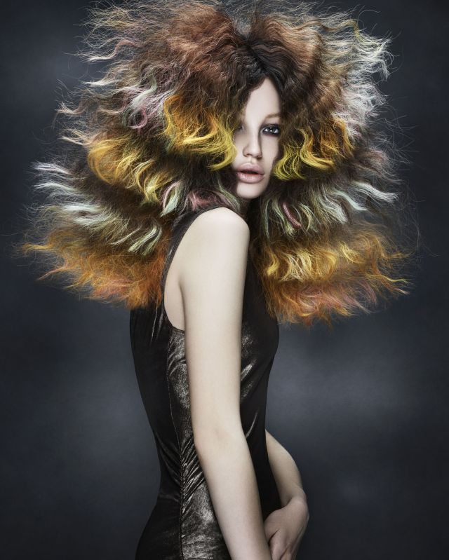 Dis-Tinction Collection Hair by: Mark Leeson Art Team Make up by: Lan Nguyen Grealis Styling by: Bernard Connolly Photography by: Richard Miles