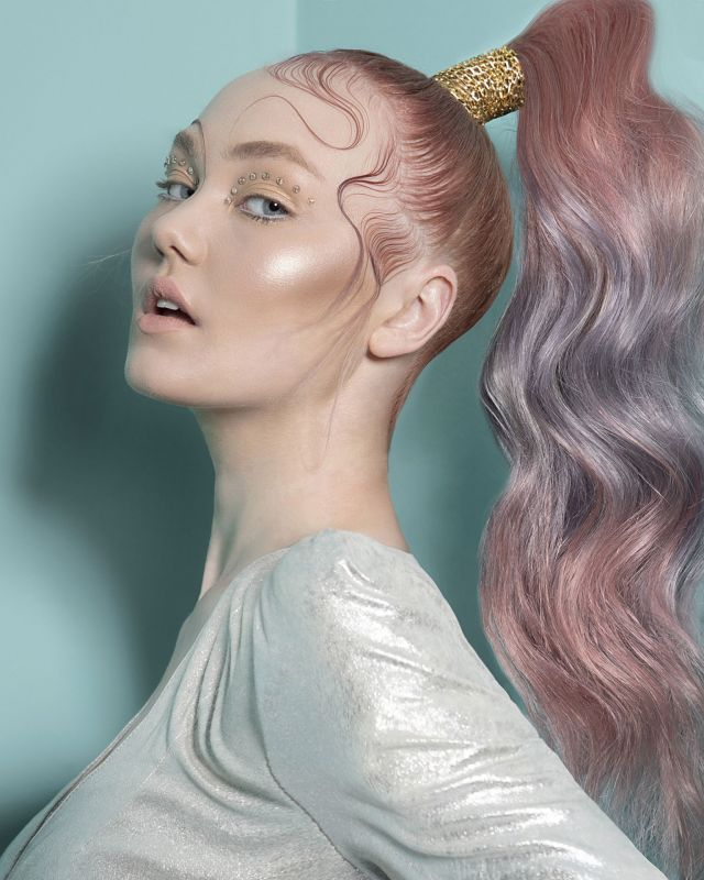 Hair: Bad Apple Art Team Photography: Tom Goddard Makeup: Jessica Williams Styling; Clare Frith Products: Schwarzkopf & Keracare
