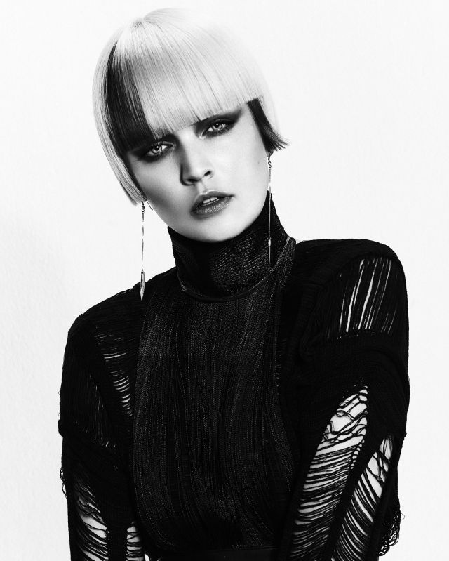 HUNGER Hairstyliste Ben Driscoll-Price Photographer John Rawson Make Up Artist Maddie Austin Stylist Jamie Russel