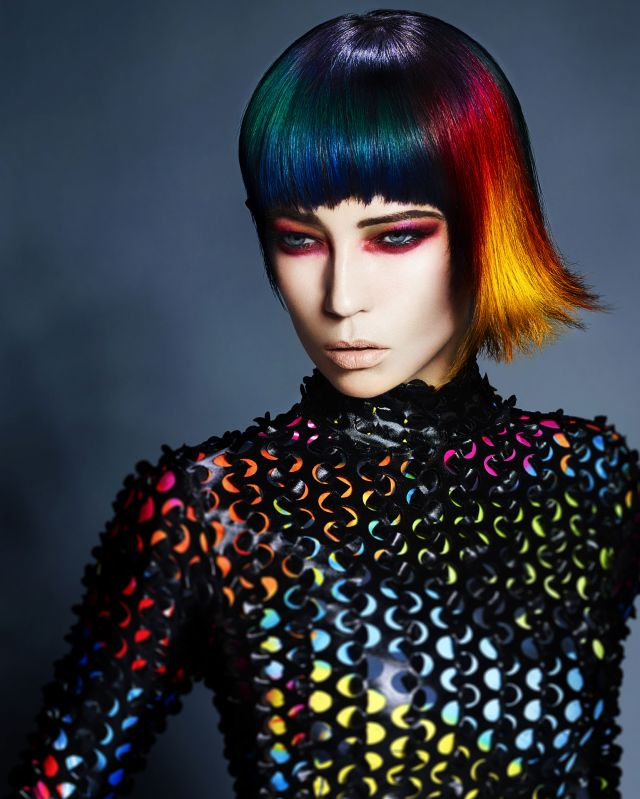 The Abstraction Hair Styling and Colour by Chrystofer Benson  P: John Rawson @ TRP  A: Paul Gill @ TRP  MUA: Danielle Donahue  S: Hannah Leigh