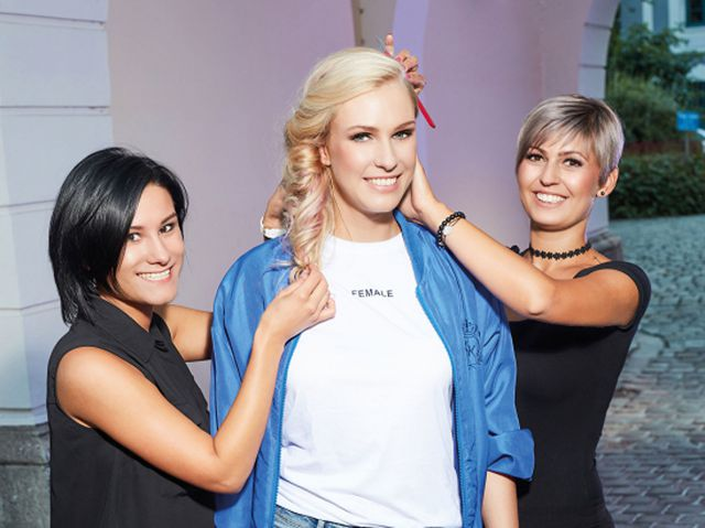 TRENDFLASH FALL/WINTER 2017 BY CUTTING CREW  -   Haare: Cutting Crew  Fotos: CUTTING CREW für Matrix