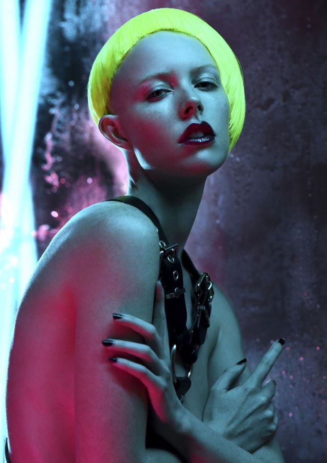 George Hairdresser & Colourist: Malisa Masci  Photographer: David Mannah  Makeup: Casey Gore  Stylist: Courtney Humphreys