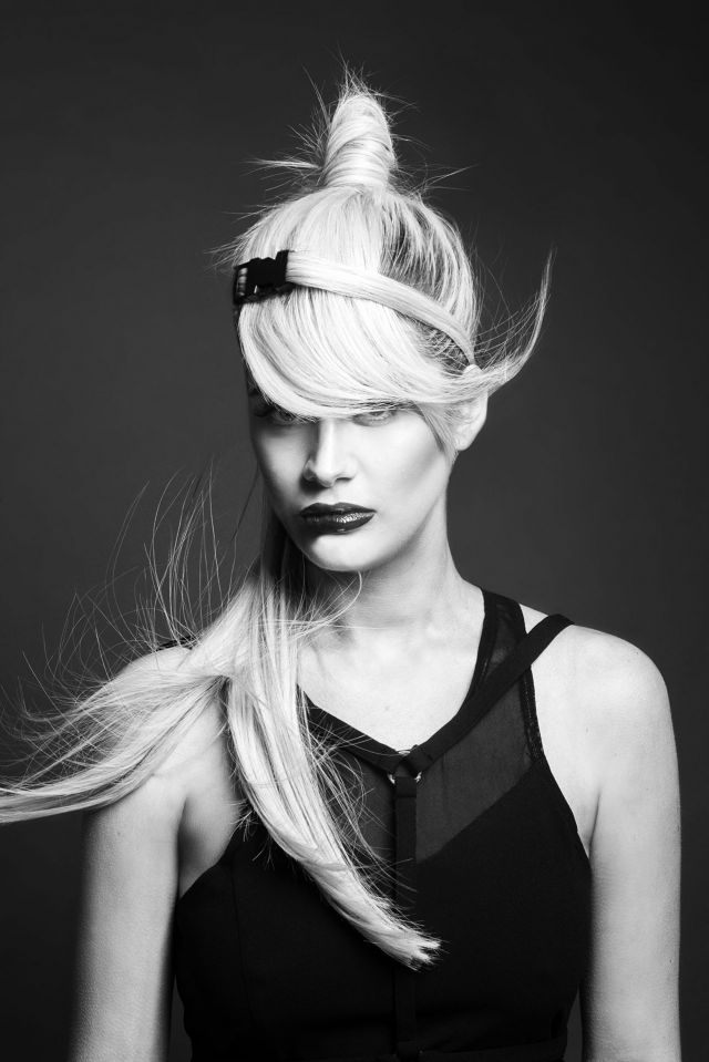 Prima Collection Hair by: Jack & Lydia Mead-Wolfe  Photography by: Danny Baldwin  Makeup by: Neringa Bige