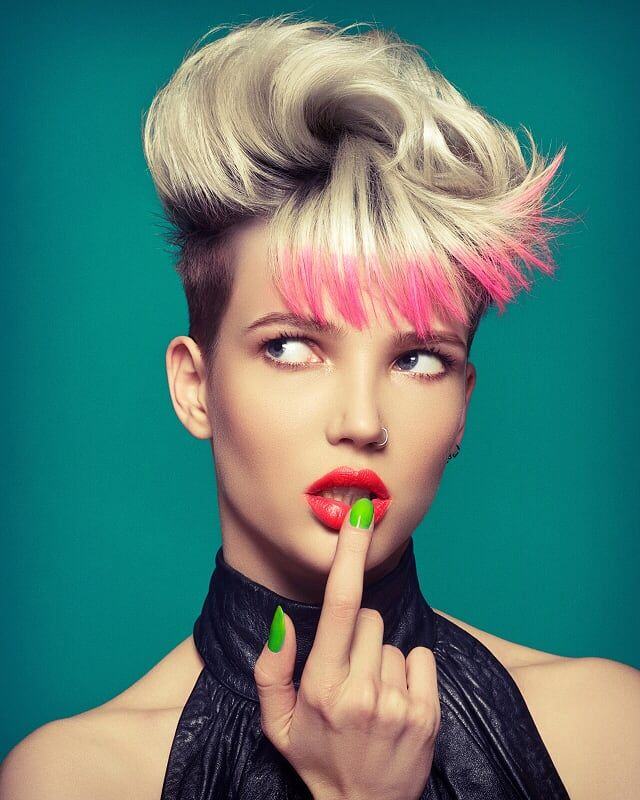 Chromatic Hair: Helen Tether Mua : Lauren Mathis Photographer: Richard Miles