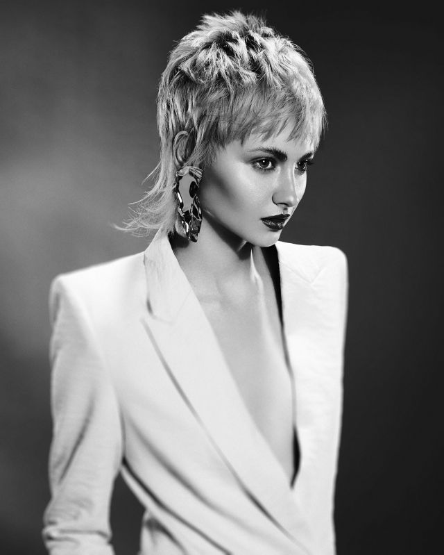 Textured Minimalist Collection BHA Finalist 2018 Hair by Vicky Taylor Photography by John Rawson Assisted by Paul Gill @trp Styling by Jamie Russell MU by Maddie Austin
