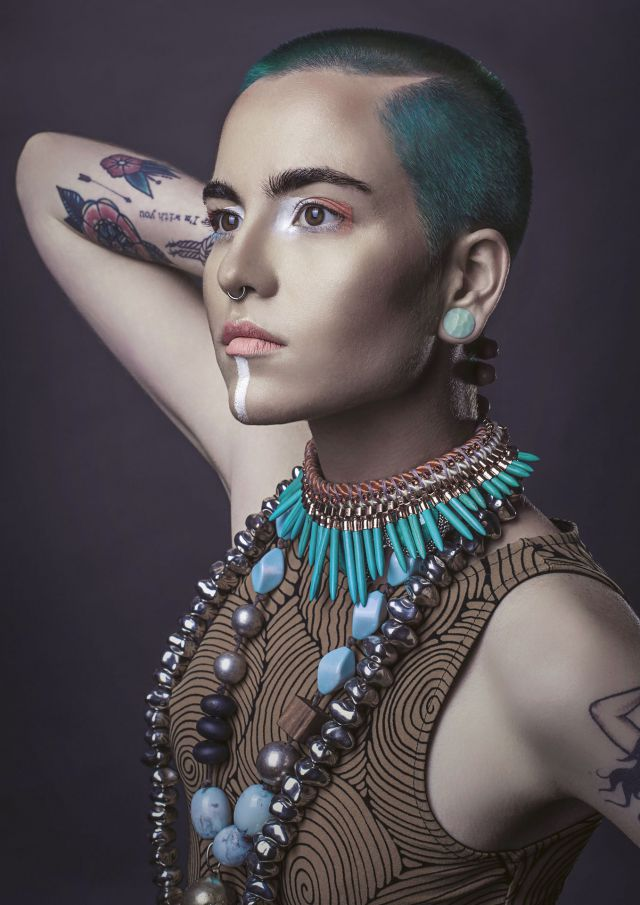 Stephanie Bellairs WA/NT Hairdresser of the Year 2016 AHFA Finalist Collection ECLECTIKA Salon: Head Graffiti    @headgraffiti Hairdresser: Stephanie Bellairs Colourist: Stephanie Bellairs Photographer: Tessa Kit Zawadzki Make Up Artist: Laura Thomas