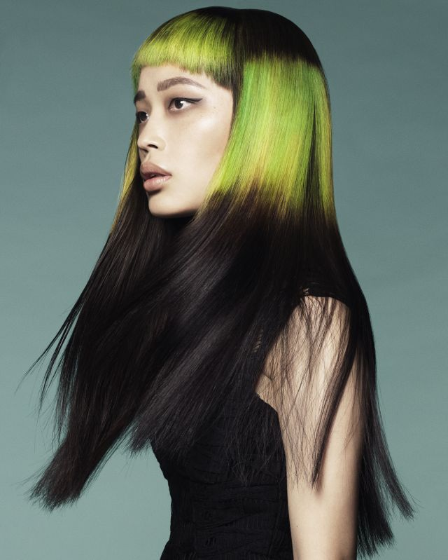 Hair : Karine Jackson using Organic Colour Systems  Photography: Andrew O´Toole MAke-Up: Belinda Zollo Stylist: Mel Nixon Assistants: Nicola Hand for Organic Colour Systems & Tatum Yeo