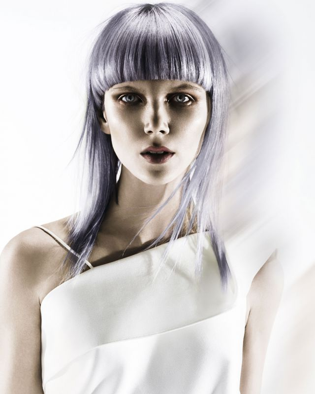 RAW METALLICS  Hair styling by: Alan Simpson and Karen Storr-Simpson at Contemporary Hairdressing Photography by: John Rawson @ The Rawson Partnership Make-up by: Maddie Austin Clothes Styling by: Jared Green