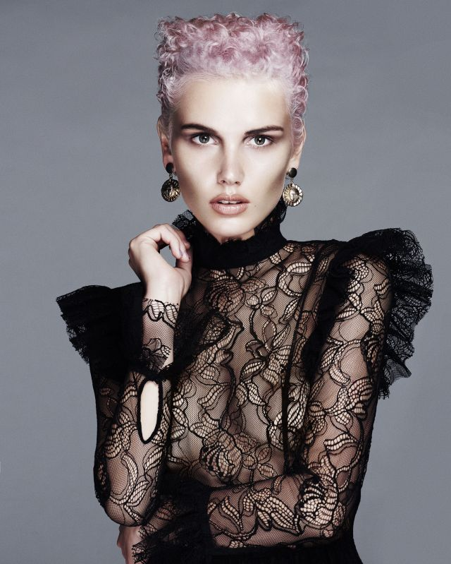 Twisted Linear Collection Hair: Karine Jackson using Organic Colour Systems Photography: Andrew O'Toole Make-Up: Margaret Aston Stylist: Karly Brown Assistants: Nicola Hand for Organic Colour Systems & Tatum Yeo @karinejacksonsalon