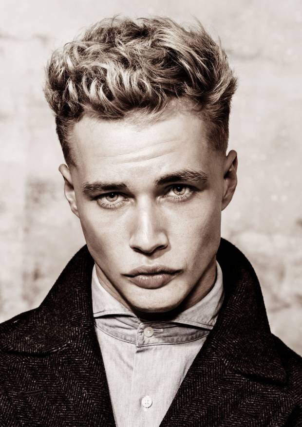 Haarfarbe männer graue Graue Haare: